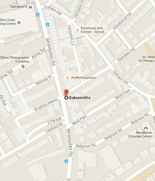 bakesmiths google maps